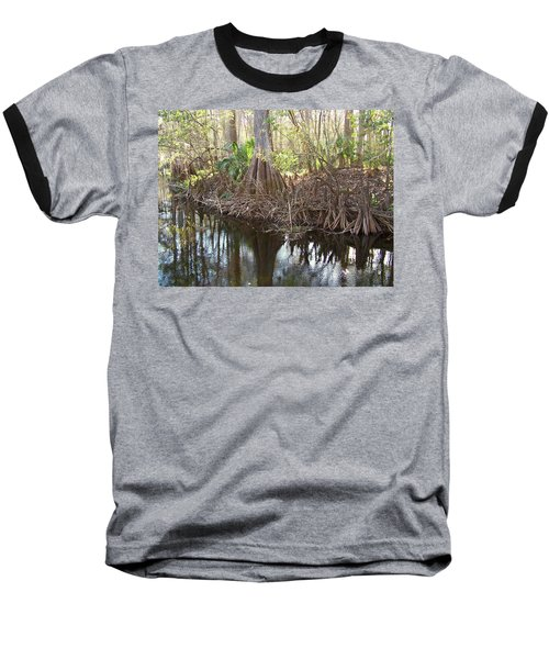 Cypress Swamp Baseball T-Shirt