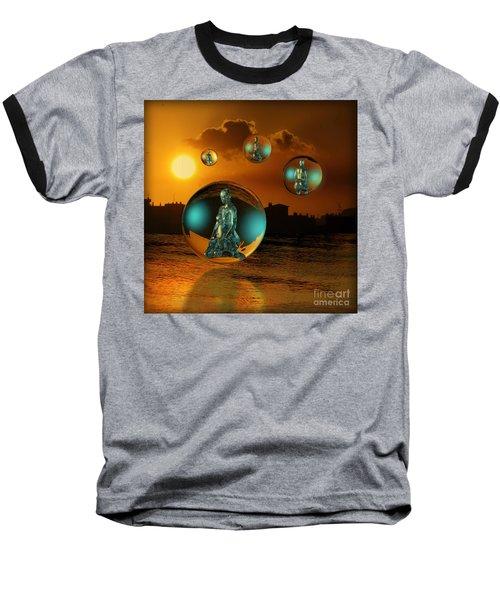Cyrstal Children Of Sun Baseball T-Shirt