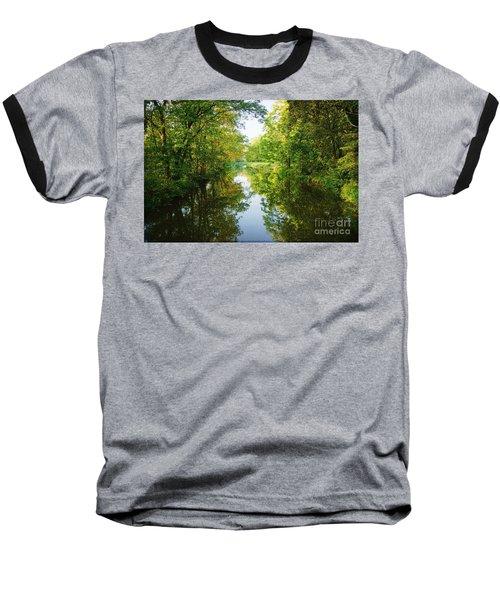 D And R Canal  Baseball T-Shirt by Debra Fedchin