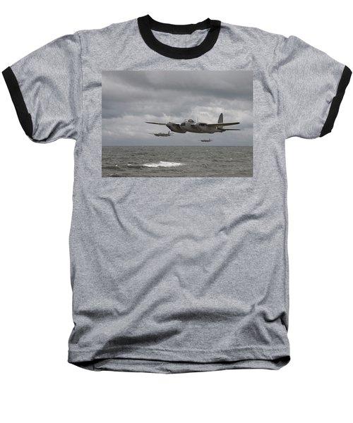 D H Mosquito Baseball T-Shirt