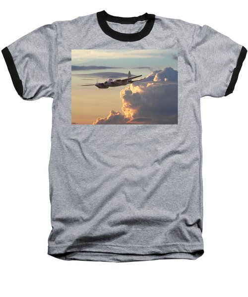 D  H Mosquito - Pathfinder Baseball T-Shirt by Pat Speirs