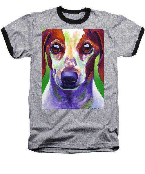 Dachshund - Cooper Baseball T-Shirt