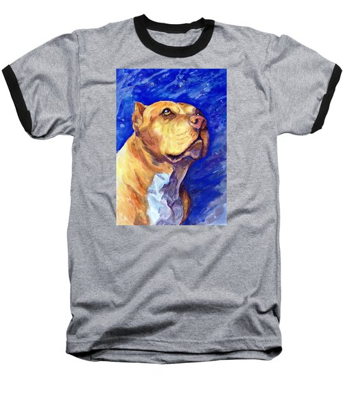 Daddy Baseball T-Shirt by Ashley Kujan
