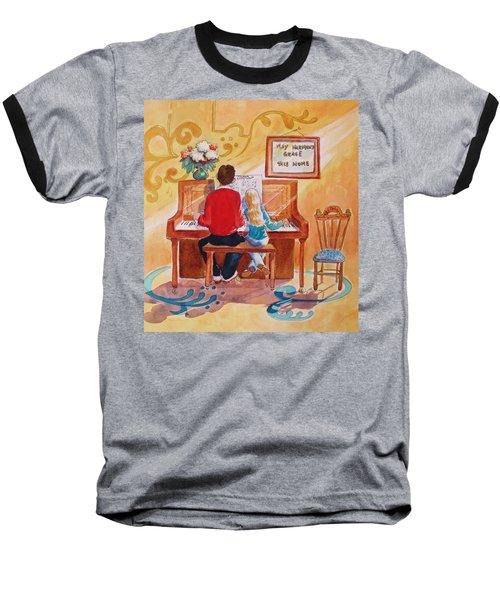 Daddy's Little Girl Baseball T-Shirt