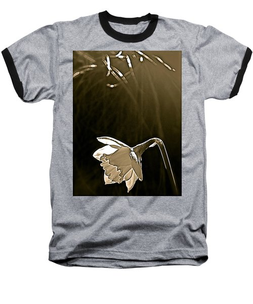 Baseball T-Shirt featuring the photograph Daffodils 2 by Pamela Cooper
