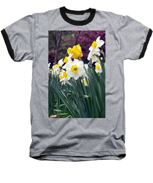 Daffodils Baseball T-Shirt