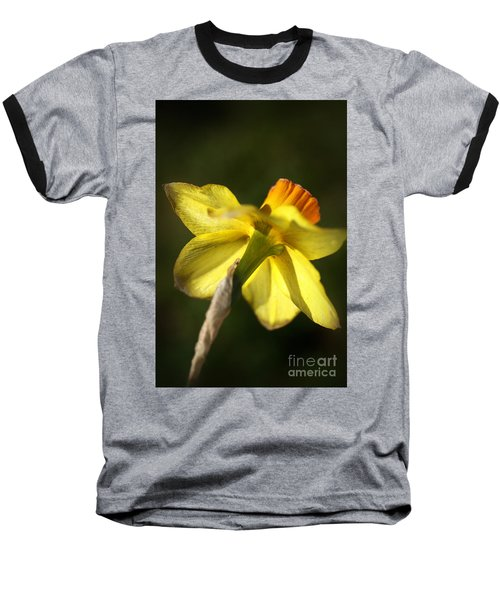Baseball T-Shirt featuring the photograph Daffodils Grace by Joy Watson