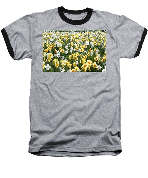 Baseball T-Shirt featuring the photograph Daffodils by Lana Enderle