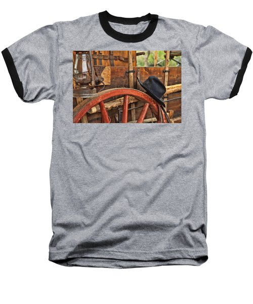 Baseball T-Shirt featuring the photograph Dagnabbit Where Is My Hat by Toni Hopper
