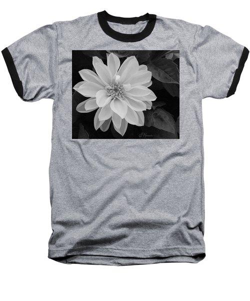 Dahlia Baseball T-Shirt by Ellen Henneke