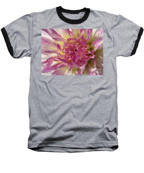 Baseball T-Shirt featuring the photograph Dahlia Named Angela Dodi by J McCombie