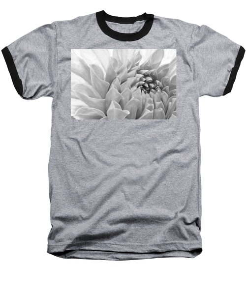 Dahlia Petals - Digital Pastel Art Work  Baseball T-Shirt