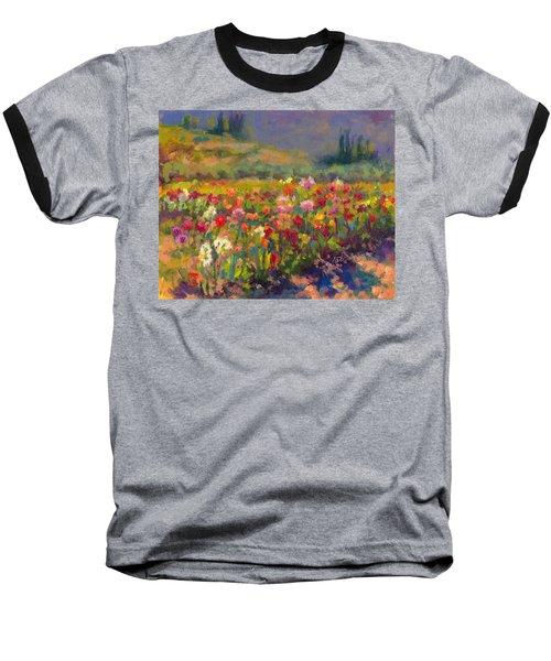 Dahlia Row Baseball T-Shirt