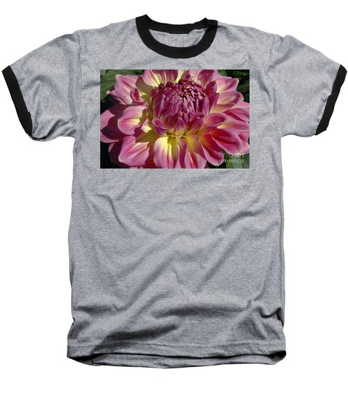 Dahlia Vii Baseball T-Shirt by Christiane Hellner-OBrien