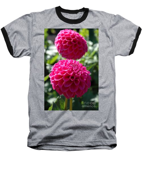 Dahlia Xi Baseball T-Shirt by Christiane Hellner-OBrien