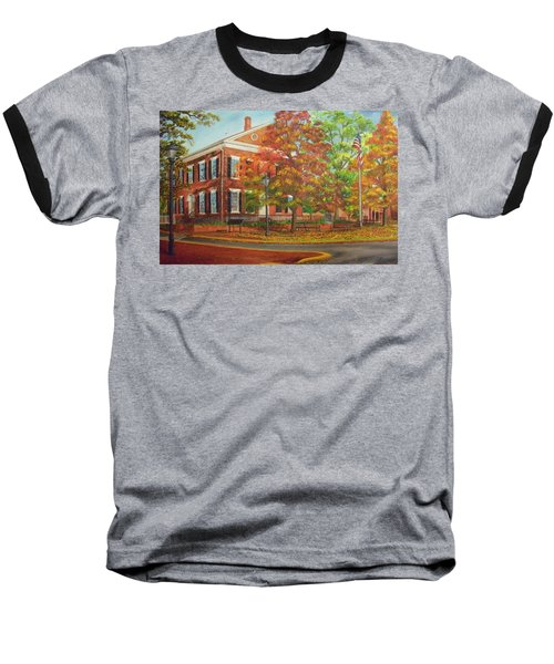 Dahlonega's Gold Museum In Autumn Baseball T-Shirt