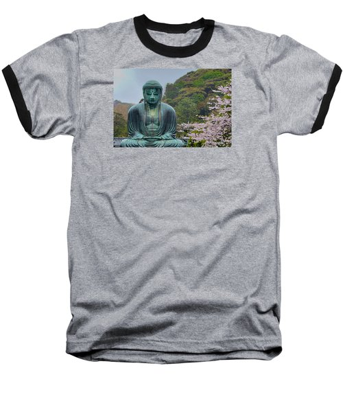 Daibutsu Buddha Baseball T-Shirt