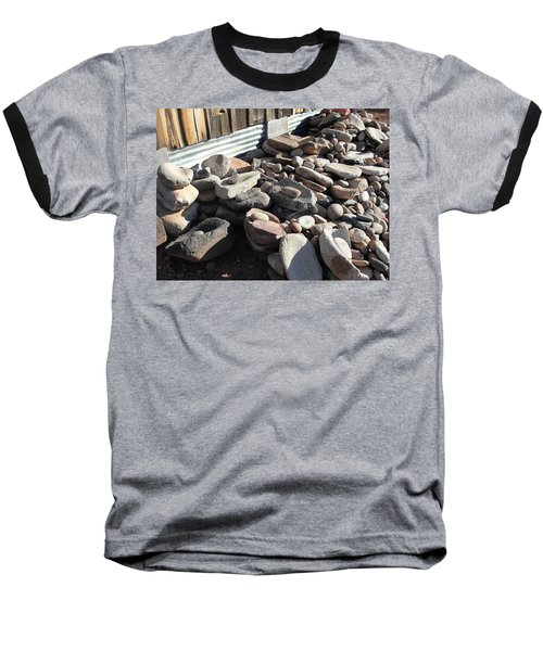 Baseball T-Shirt featuring the photograph Daily Grind by Natalie Ortiz