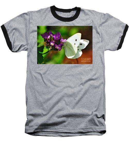 Dainty Butterfly Baseball T-Shirt