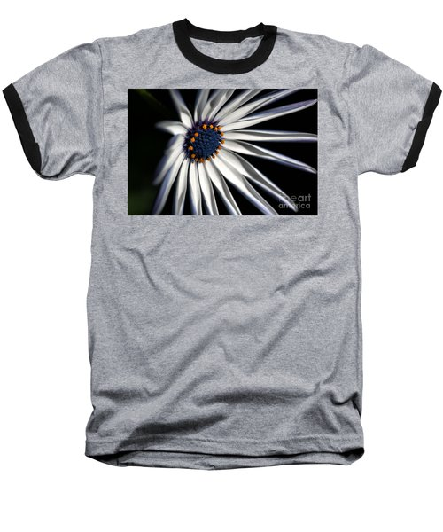 Baseball T-Shirt featuring the photograph Daisy Heart by Joy Watson