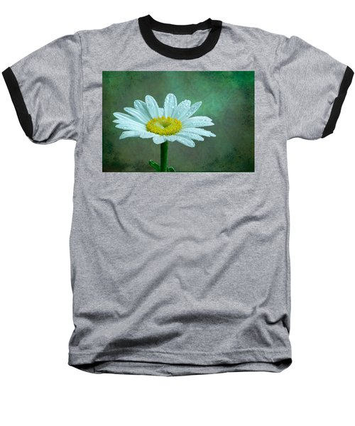 Daisy In The Rain Baseball T-Shirt