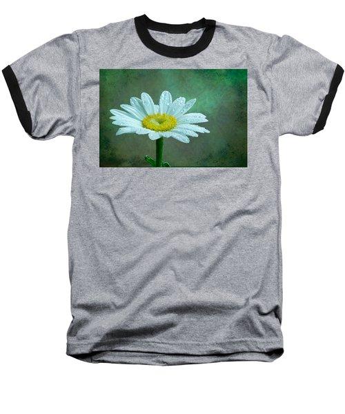 Daisy In The Rain Baseball T-Shirt
