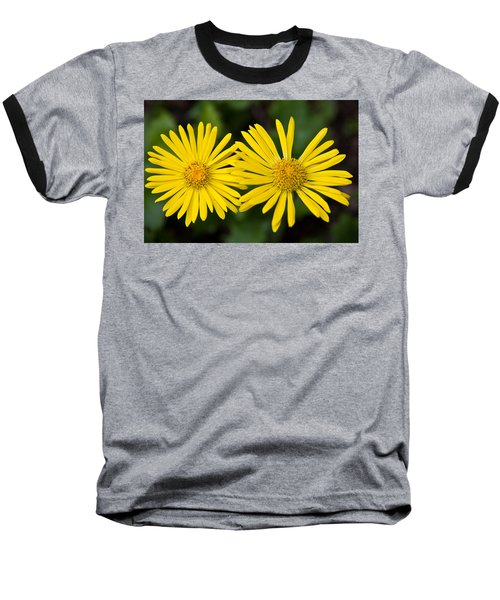 Daisy Twins Baseball T-Shirt by Aaron Berg