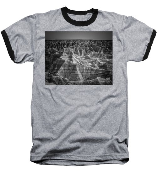 Dakota Badlands Baseball T-Shirt by Perry Webster