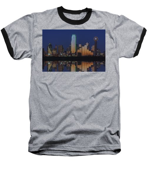 Dallas Aglow Baseball T-Shirt