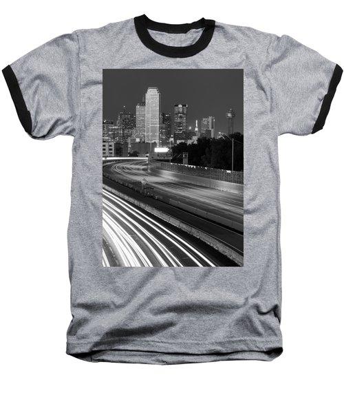 Dallas Arrival Bw Baseball T-Shirt