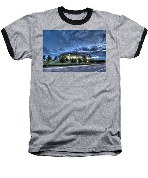 Dallas Cowboys Stadium Baseball T-Shirt