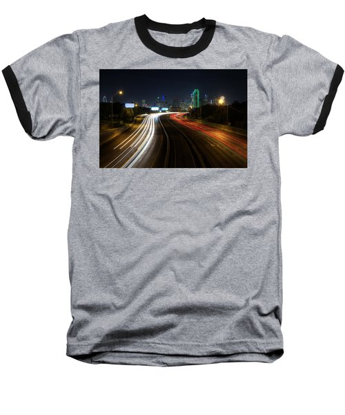Dallas Night Light Baseball T-Shirt
