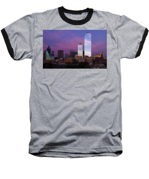Dallas Sunset Baseball T-Shirt