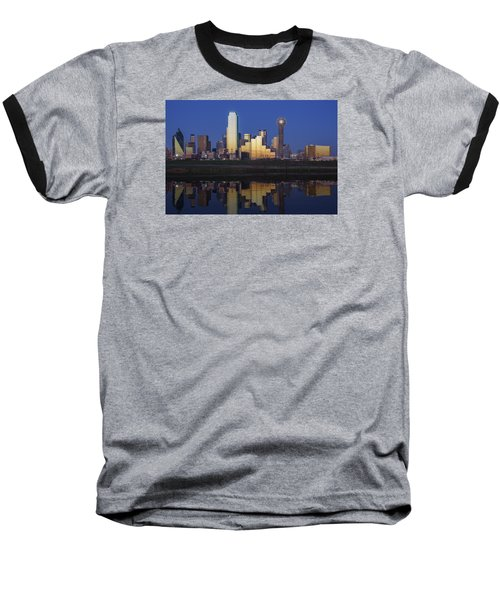 Dallas Twilight Baseball T-Shirt by Rick Berk