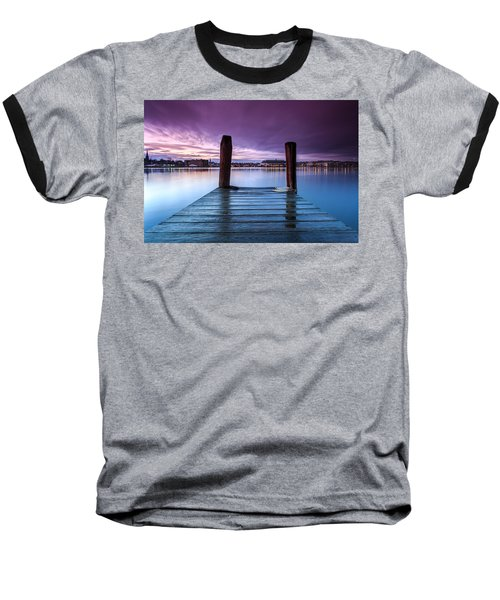 Damp Sunset Baseball T-Shirt