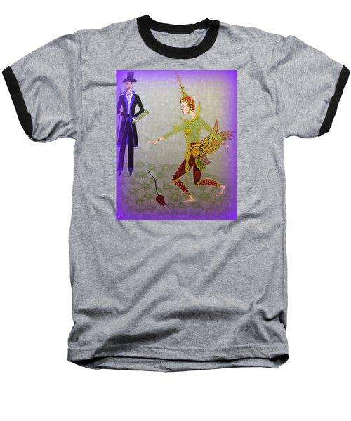 Dance Of A Nymph Baseball T-Shirt by Marie Schwarzer
