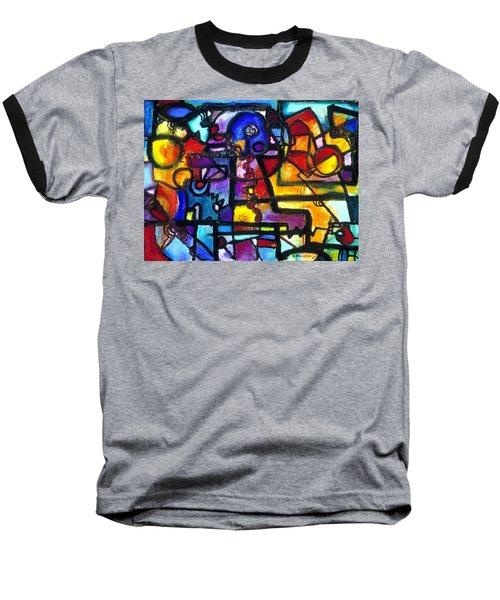 Dance Of The Gauge Bosons In Vacuum Baseball T-Shirt