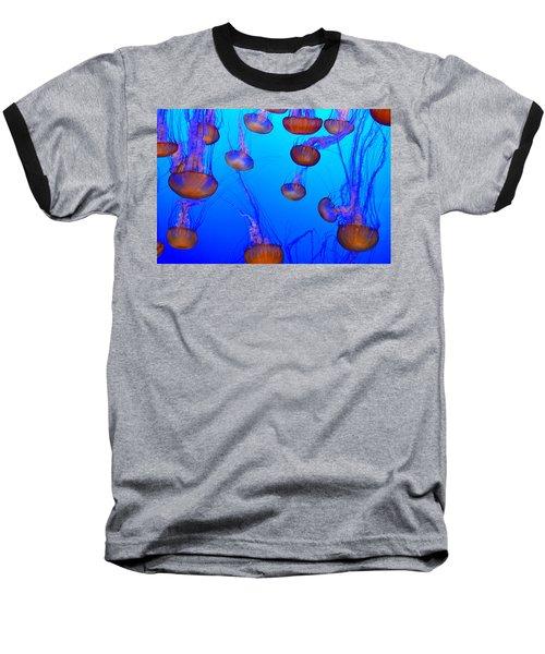 Dance Of The Jellyfish Baseball T-Shirt