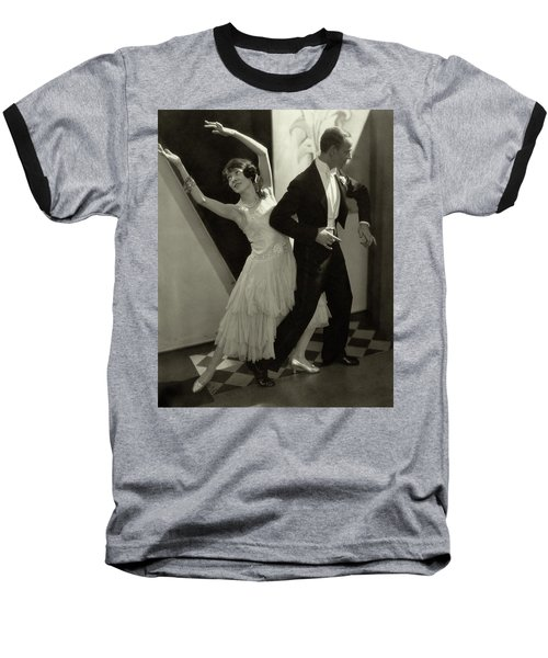 Dancers Fred And Adele Astaire Baseball T-Shirt by Edward Steichen