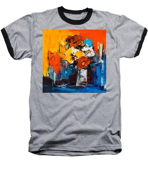 Dancing Colors Baseball T-Shirt