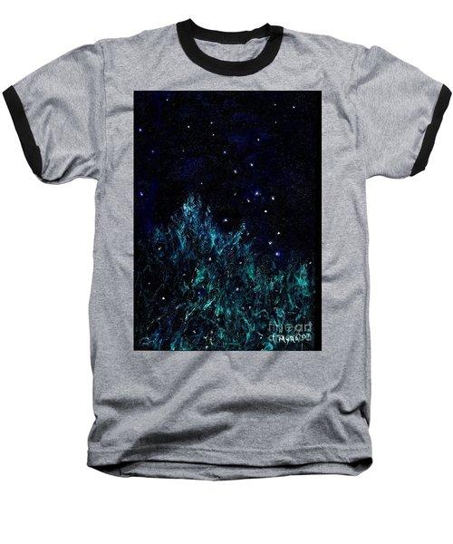 Dancing Fireflies Baseball T-Shirt