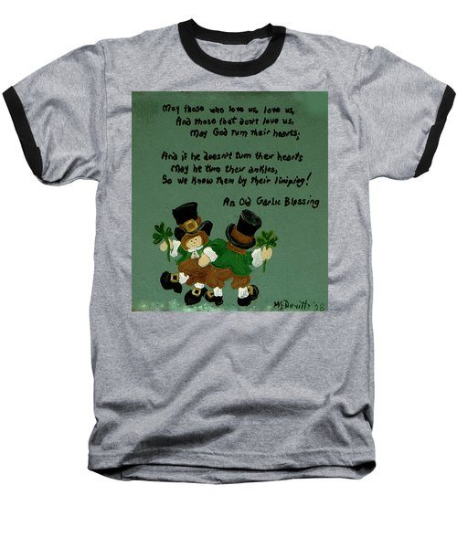 Dancing Folk Baseball T-Shirt