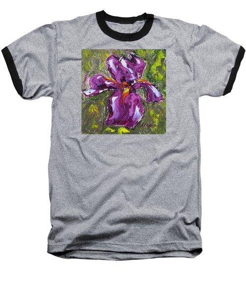 Dancing Iris Baseball T-Shirt
