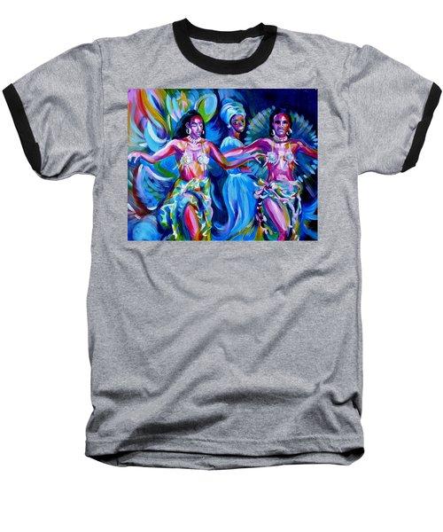 Dancing Panama Baseball T-Shirt