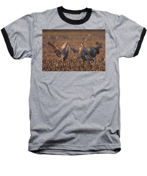 Dancing Sandhills Baseball T-Shirt