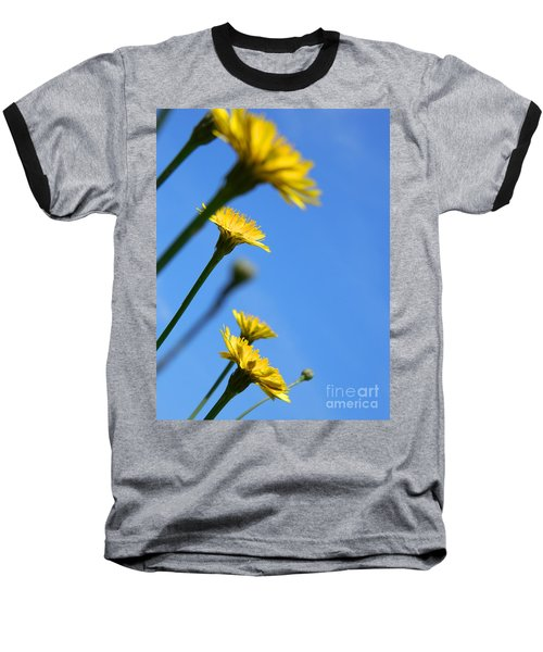 Dancing With The Flowers Baseball T-Shirt