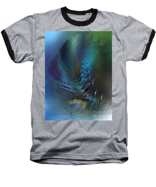 Dancing With The Wind-abstract Art Baseball T-Shirt