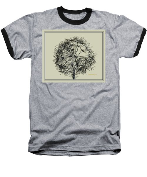 Baseball T-Shirt featuring the photograph Dandelion 6 by Kathy Barney