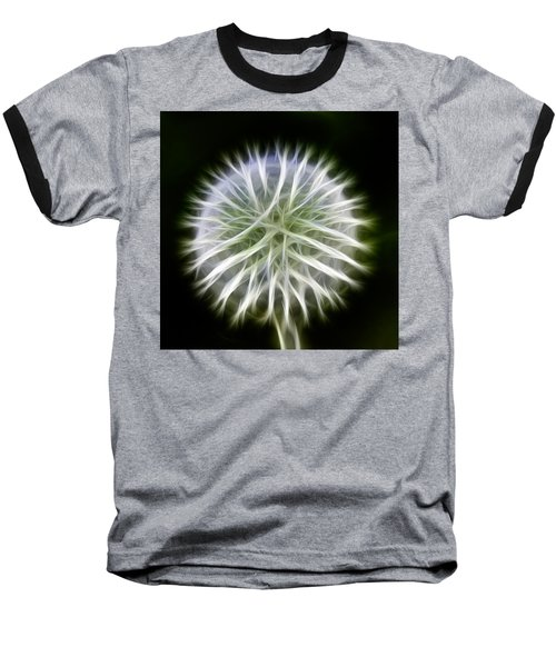 Dandelion Abstract Baseball T-Shirt