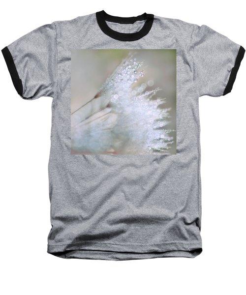 Dandelion Bling Bokeh Baseball T-Shirt